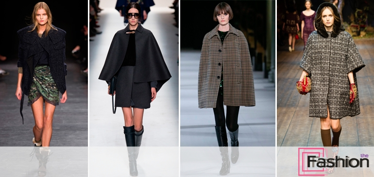 Неувядающая мода на серое пальто