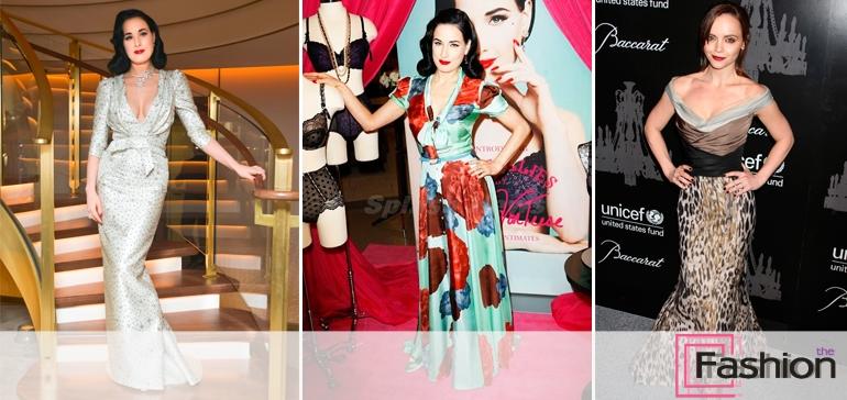 10 лучших звездных выходов в платьях от Каролины Эррера