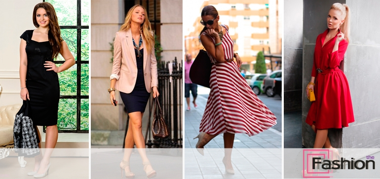 Платья для женщин 35 лет стильные