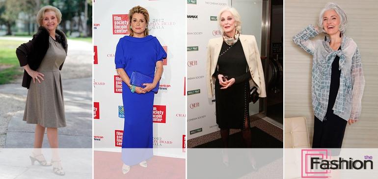 Женские платья для женщин 60 лет