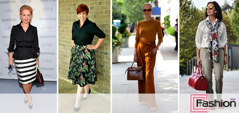 Базовый гардероб женщины 60 лет