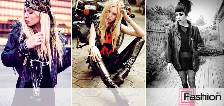 Рок стиль в одежде