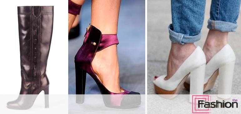 10 основных видов каблуков