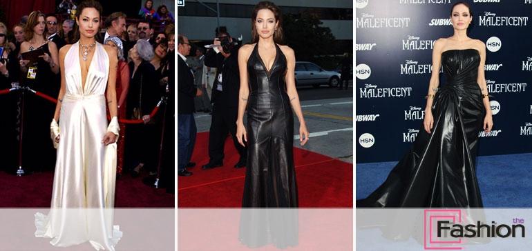 Обзор лучших нарядов Анджелины Джоли