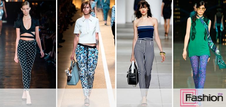 Модные брюки сезона весна-лето 2015