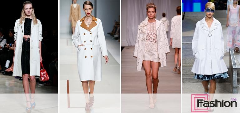 Модные пальто сезона весна-лето 2015