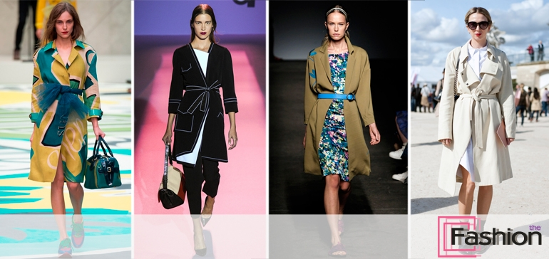 Модные плащи и ветровки 2015
