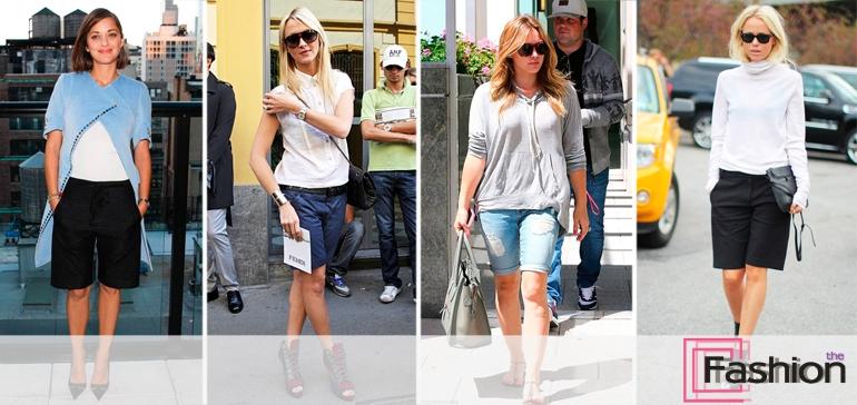 Модные шорты: какие бывают, как выбрать, с чем носить