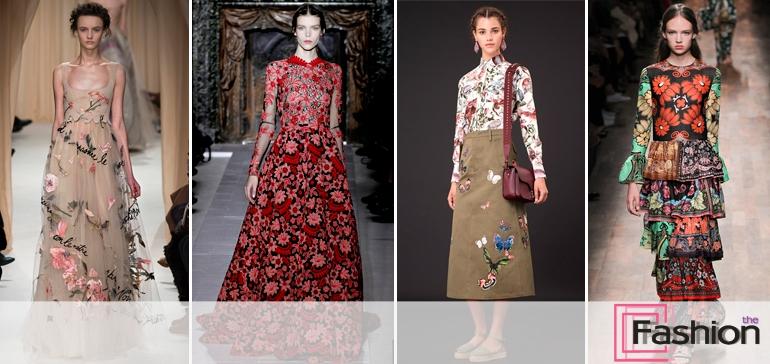 Использование цветочных мотивов в современной моде