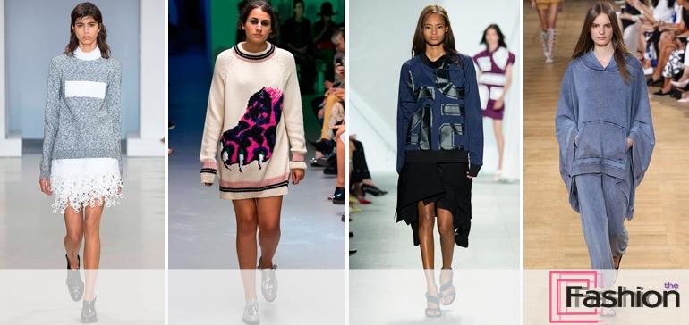 Модные кофты, свитера и джемпера