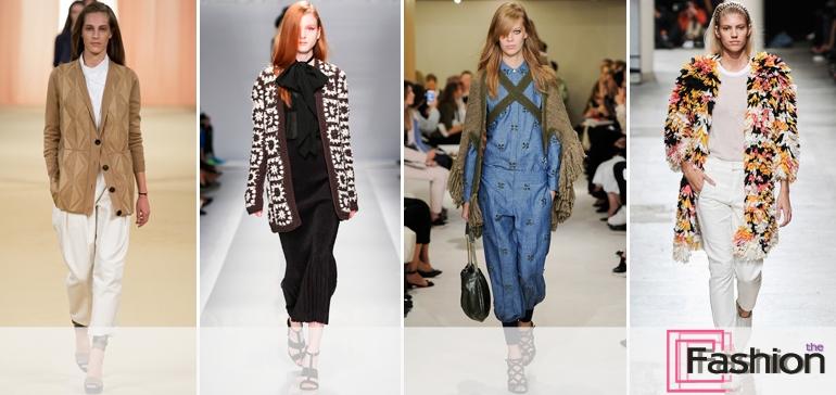 Модные удлиненные кофты