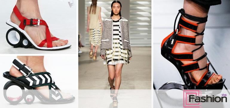 Модные босоножки 2015