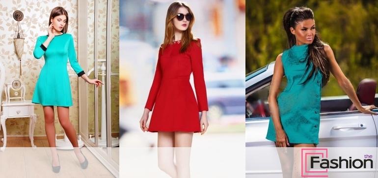 Платье-трапеция: фото, стили, темы