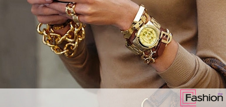 Носят ли одновременно часы и браслеты