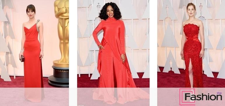 Красная дорожка Оскар 2015