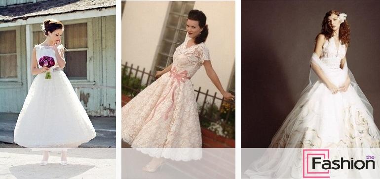 Платье винтажный стиль