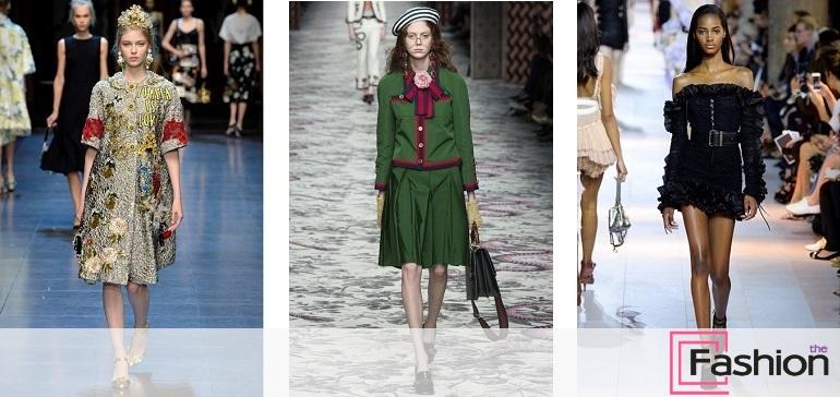 Неделя моды в Милане