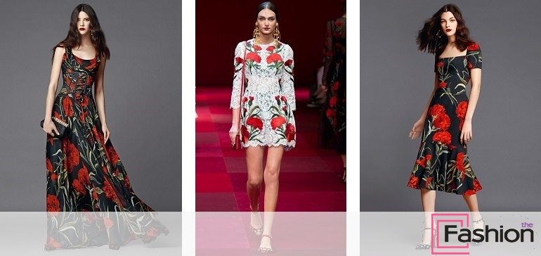 платья с цветочным принтомплатья с цветочным принтом