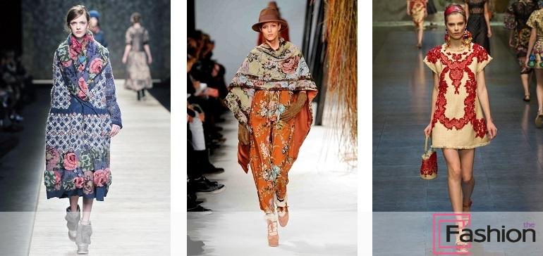 Русский стиль в одежде  достойный признания колорит 0ade2a69116