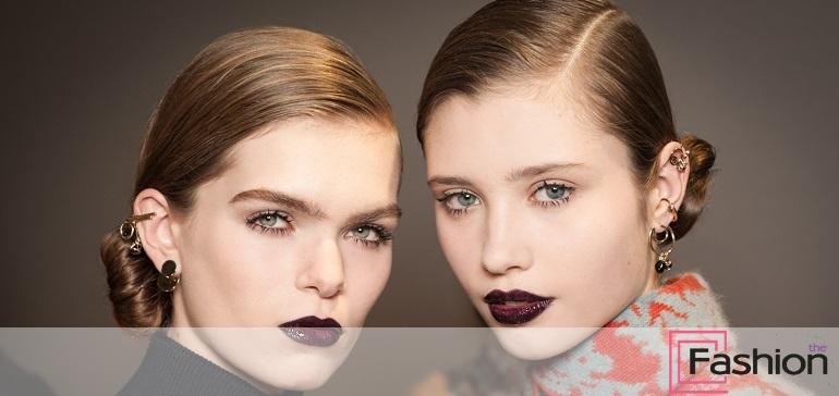 Главная тенденция сезона – экстремально темные губы!