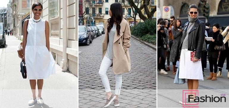 С чем носить женские слипоны ? Что такое слипоны, виды, фото, как выбрать такую обувь.