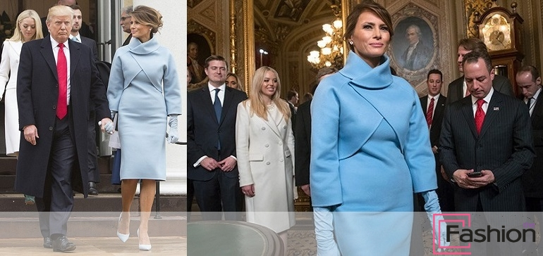 Мелания Трамп наряды