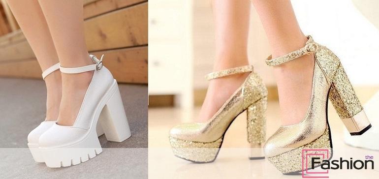 6af2b30c6 Туфли на платформе и толстом каблуке - модная обувь