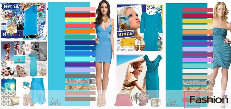 С какими цветами сочетается голубой - лучшие колористические идеи