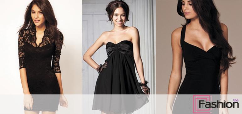 С чем одеть черное платье. Как и с чем его носить и сочетать. Фото, советы, луки.