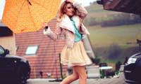 С чем носить юбку осенью