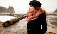 Как завязать шарф на пальто: 5 простых секретов