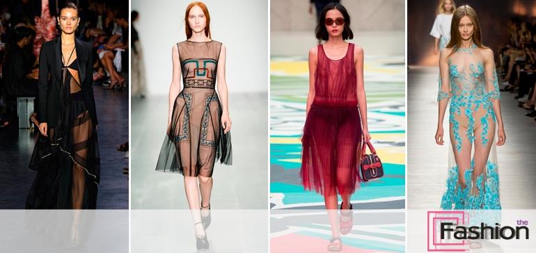Модные платья весна-лето