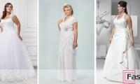 Свадебные платья для полных: как подчеркнуть достоинства фигуры