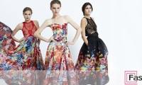 Платья с цветочным принтом – лето в женском гардеробе