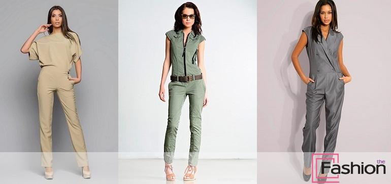 4d8ab0cdd92 Стильный женский комбинезон – настоящий модный хит этого сезона. И это  ожидаемо. Продажи удобных моделей уже в прошлом году били рекорды