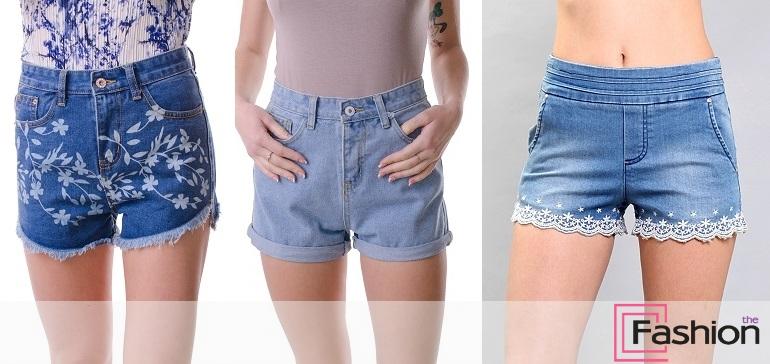 Джинсовые шорты с завышенной талией: подходят всем!