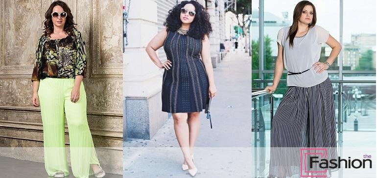 Как правильно одеваться полным женщинам: фото лучших образов и рекомендации от стилистов