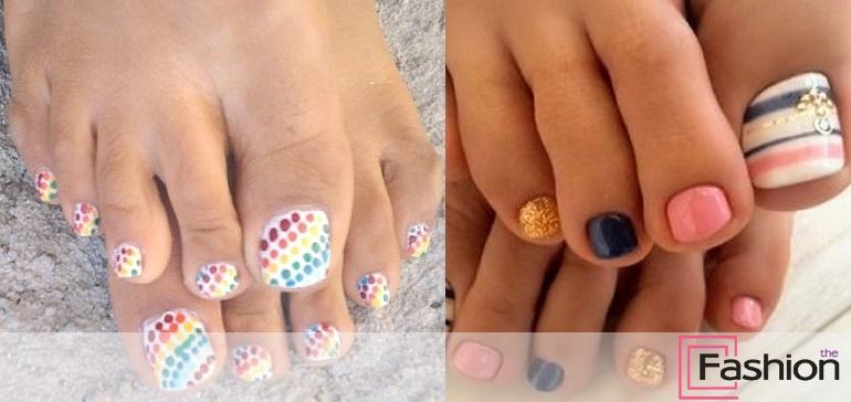 Модный педикюр: лето, море, солнце!