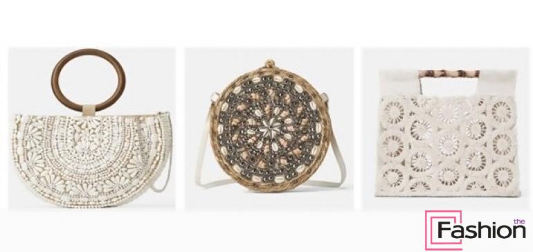 С чем носить плетеную сумку