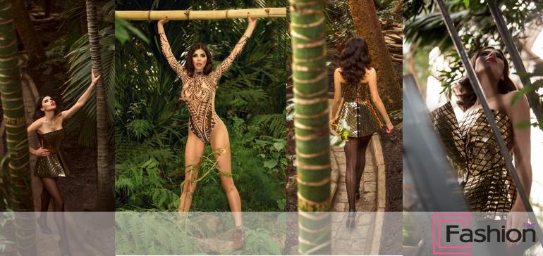 """Издание SHESAYS представляет съемку """"House Jungle"""" о том как выжить в домашних джунглях."""